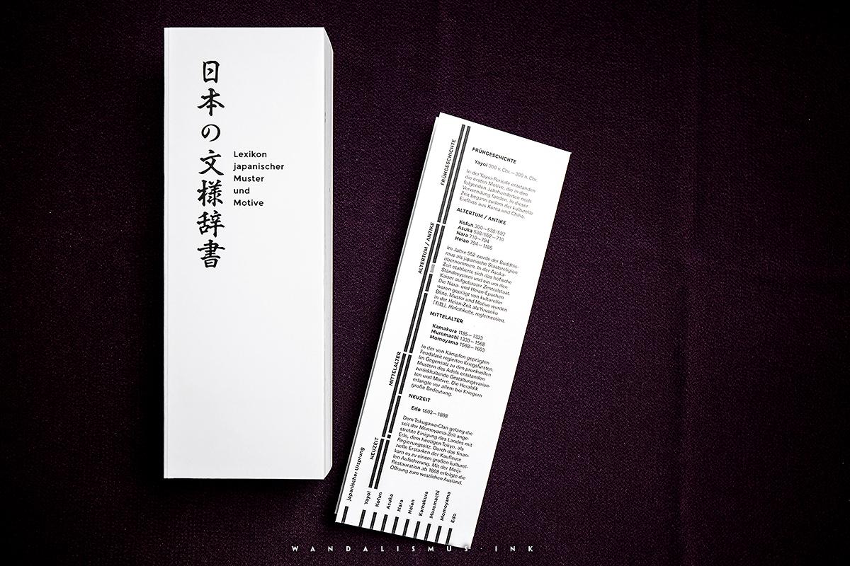 Japanische Muster und Motive Book © Wanda Proft, WANDALISMUS.INK