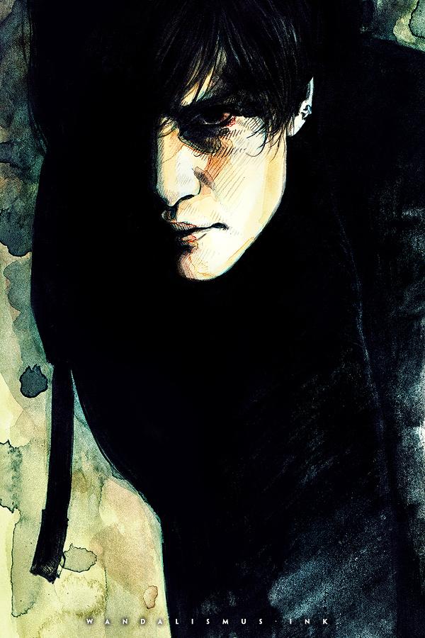 Toshiya—some kind of darkness Photo Illustration by Wanda Proft, WANDALISMUS.INK