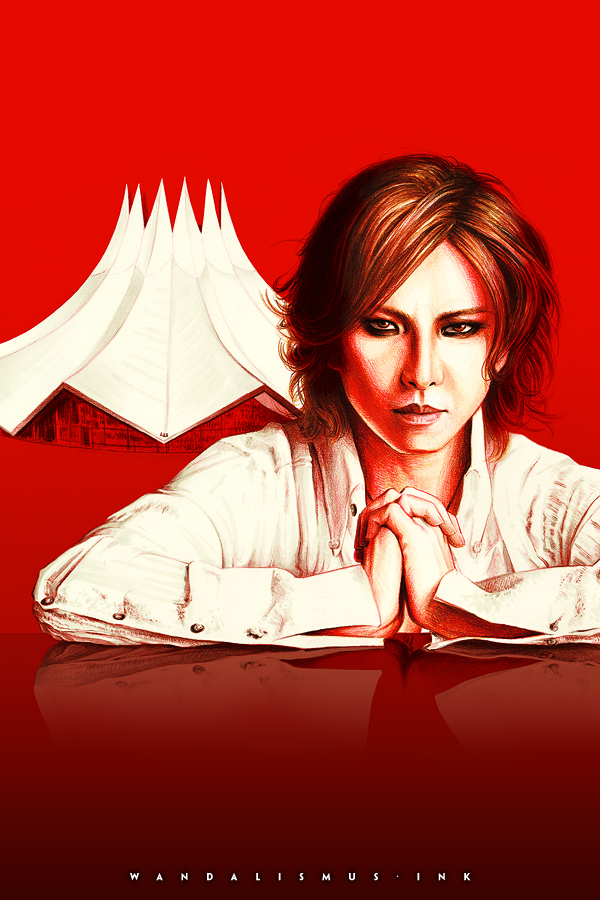 Yoshiki Classical Photo Illustration by Wanda Proft, WANDALISMUS.INK